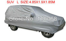 SUV L size universal Car covers for Mitsubishi HYUNDAI Hover Jeep Lexus Nissan Outlander Volkswagen  resist snow car cover(China (Mainland))