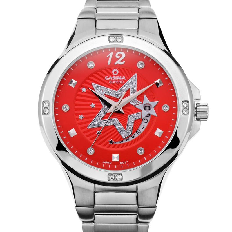 Casima china brand fashion diamond watches casual charm quartz multifunctional women 39 s watches for Casima watches