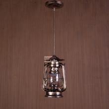 Fashion Black/Brown retro chandelier led lamps living room Iron chandelier led light E27 led lustre chandeliers (China (Mainland))