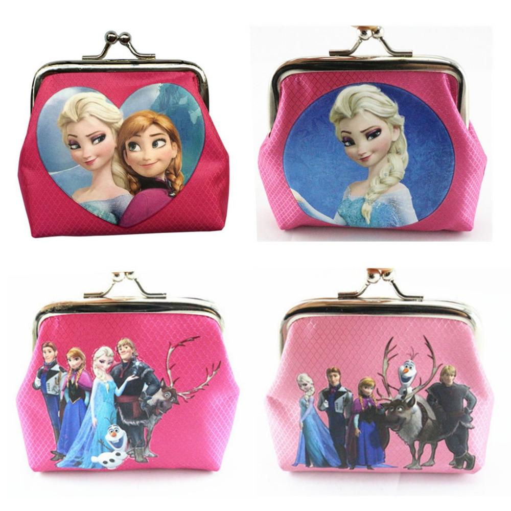 Гаджет  New Arrival Fashion Girl Cartoon Key Coins Zero Wallet Coin Purses Lovely Children Cards Bag Kids Wallets None Камера и Сумки