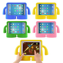 Free shipping For iPad Mini case for iPad Mini2 case for iPad Mini 3 iPad Mini 4 case Shockproof Kids Handle EVA Foam Case Cover(China (Mainland))