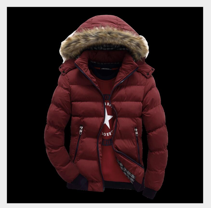 Korean Style New Fashion Men Winter Clothing Super warm Patchwork color Big yards Down jacket Slim Hooded Coat F020(China (Mainland))