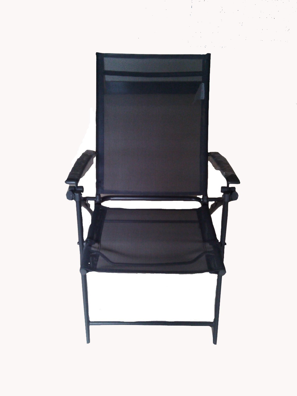 Fashion Leisure outdoor folding chair Metal Garden Chair Mesh Outdoor Chair