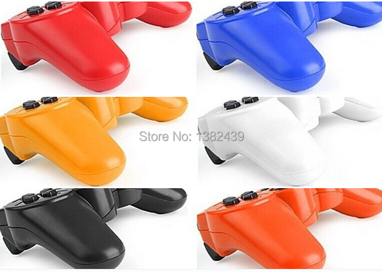 Dual shock3 Bluetooth Wireless Game Controller for SONY Playstation 3 PS3 SIXAXIS Controls Joysticks Gamepads #58(China (Mainland))