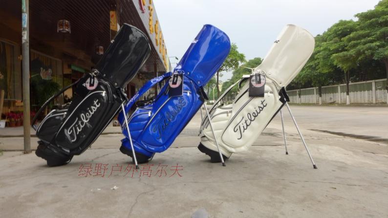 Top Grade Staff Golf Bags Men Fashion Golf Club Bag PU Golf Cart Bag Tit - 2015 New(China (Mainland))
