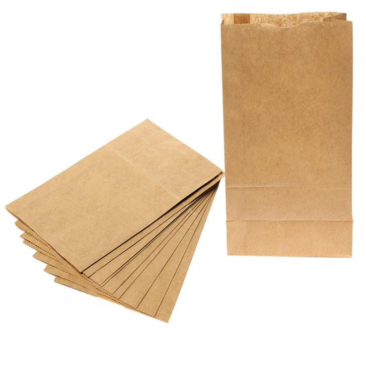 Set of 10pcs/lot Brown Kraft Paper Bags Recyclable Gift Jewelry Food Bread Candy Packaging Shopping Party Bags For Boutique(China (Mainland))
