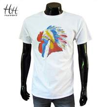 2015 Fashion Creative Men T shirt 100 Cotton Short Sleeve O Neck Loose Tops Tees Brand