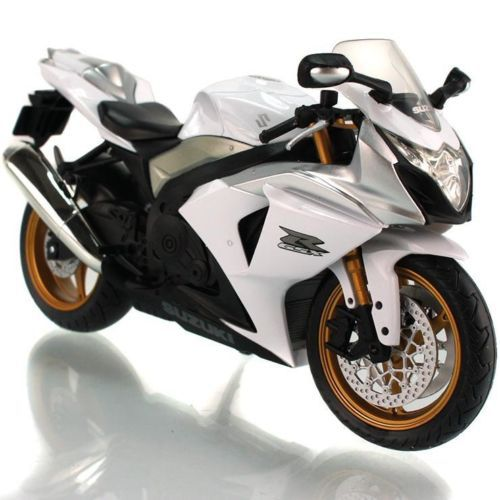 1:12 Automax Suzuki GSX R1000 Diecast Motorcycle Motorbike Model Gift Toy(China (Mainland))