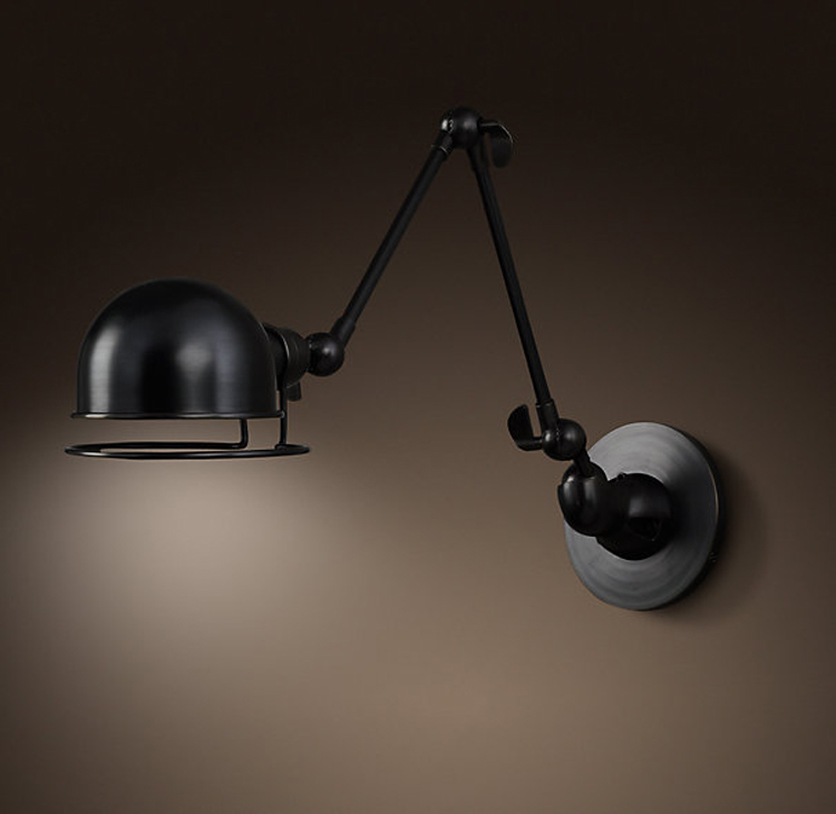 Vintage industrial lights iron lamp wall lamp lamp bedroom ...