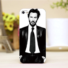 pz0006-1-2-6 Keanu Reeves Design cellphone cases For iphone 4 5 5c 5s 6 6plus Shell Hard transparent Skin Shell Case Cover