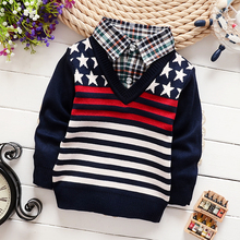 Children Sweaters Shirts baby boys girls knitted warm sweater 2015 New Autumn winter Pullover Sweater fancy