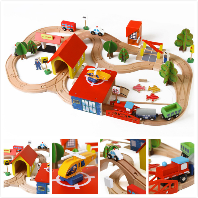 Diecasts Toy Vehicles Kids Toys Thomas train Toy Model Cars wooden puzzle Building slot track Rail transit Parking Garage 3119<br><br>Aliexpress