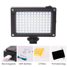 Buy AriLight Rechargeable LED Video Light Kit Battery Hotshoe Photo Lighting Camera Canon Nikon Camcorder DV DSLR for $18.81 in AliExpress store