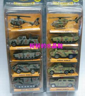 Alloy car model toy slitless fire truck set combination loading 4
