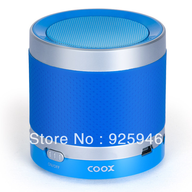 Free shipping COOX Cool Alex T3 wireless Bluetooth speaker to answer the phone car stereo subwoofer mini computer