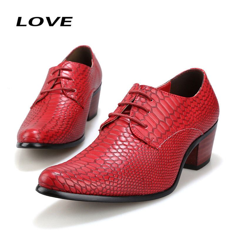 High Quality Crocodile Men Dress Shoes Wedding Low Square Heel Oxfords For Man Lace Up Flat Mens Leather Shoes Size 38-44 F255<br><br>Aliexpress