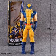 30 centímetros Capitão Marvel Avengers Brinquedos homem Aranha Homem de Ferro Capitão América Thor Hulk Buster Thanos Figura de Ação Bonecas Pantera Negra(China)