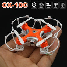 Cheerson CX-10C Mini Drone with Camera 2.4G 4CH 6-Axis RC Quadcopter CX-10 Helicopter Upgraded Version Dron Drones for kid