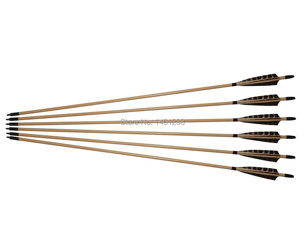 Aliexpresscom Acheter 50 pcs flèches en bois gros  ~ Arc En Bois Decathlon