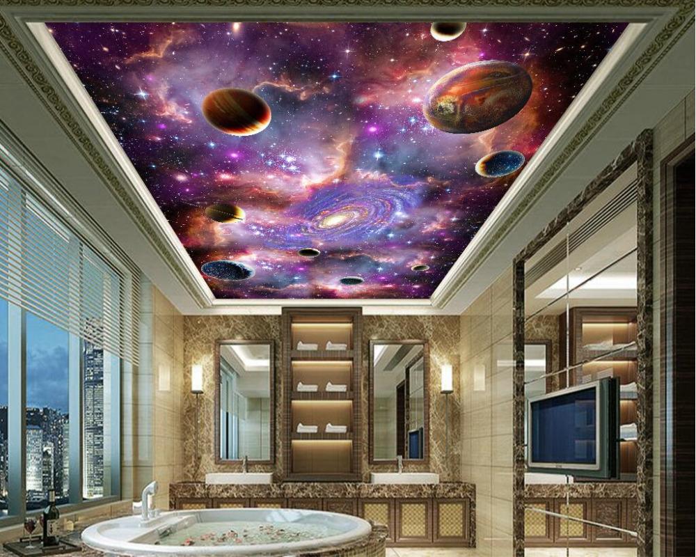 Hoge Kwaliteit Wallpaper Milky Way-Koop Goedkope Wallpaper Milky ...