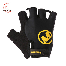 MOON Fashion Half Finger Bicycle Gloves For Men Women Outdoor Sports Cycling Gloves Breathable Ciclismo 3 Colors Bike Gloves