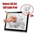 New HUION L4S A4 Drawing Tablets LED Drawing Tablet Light Pad Trackpad Painting Plates Tablet Gift