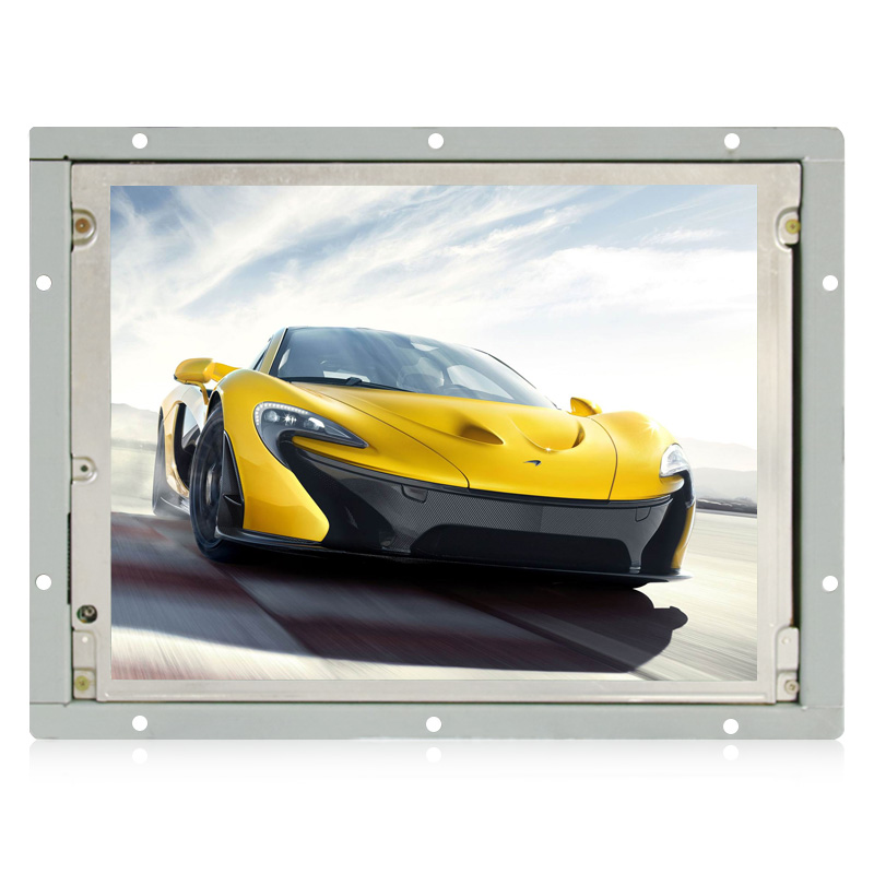bnc usb interface non - touch open frame lcd monitor/display with 8 inch and 8.4 inch metal frame 800*600(China (Mainland))