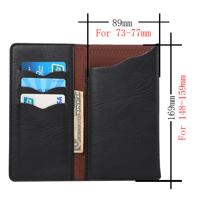 TOKOHANSUN For Xiaomi Redmi Note 4X Crazy Horse PU Leather Wallet Stand Phone Case Cover Cell Phone Accessories