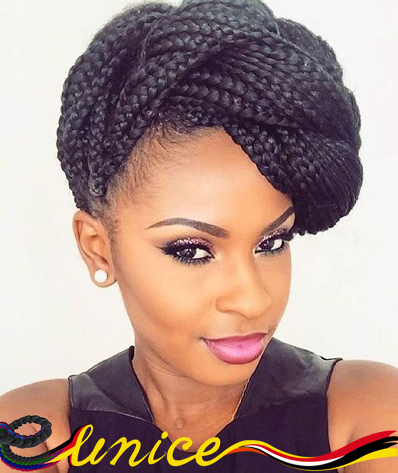 100gram Box Braids 3x Box Braids Hair Extension Jumbo Braids Crochet ...