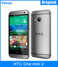 Refurbished Original HTC One mini 2 16GBROM 1GBRAM Mobile Phone 4.5 inch Android 4.4 Qualcomm Snapdragon 400 3G WCDMA GSM 13MP(China (Mainland))