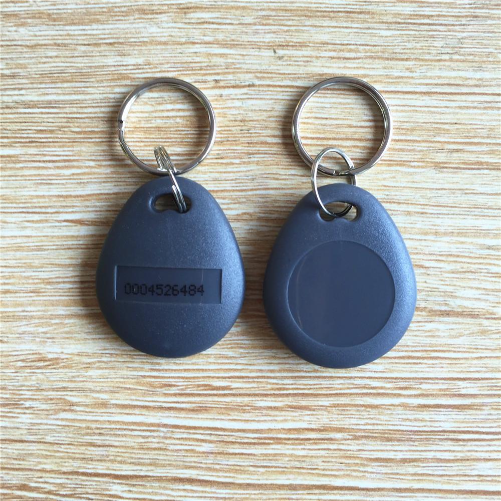 RFID ID card keytag 125Khz Key Tag Keyfob Proximity Token key fobs Chain(China (Mainland))