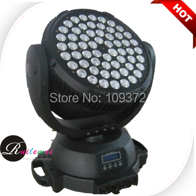 2014 New 60*10Watt Led Moving Head Wash RGBW 4 IN 1 39 CHs /15 CHs DMX Stage Lights, Free Shipping<br><br>Aliexpress
