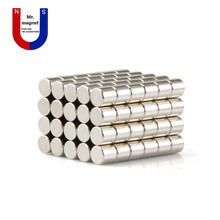 106x6mm magnet 6x6 Super strong sticking magnets D6x6, 6*6 permanent Nickel plating 6mm*6mm neodymium D6*6mm - Mr. Mag' Shop store