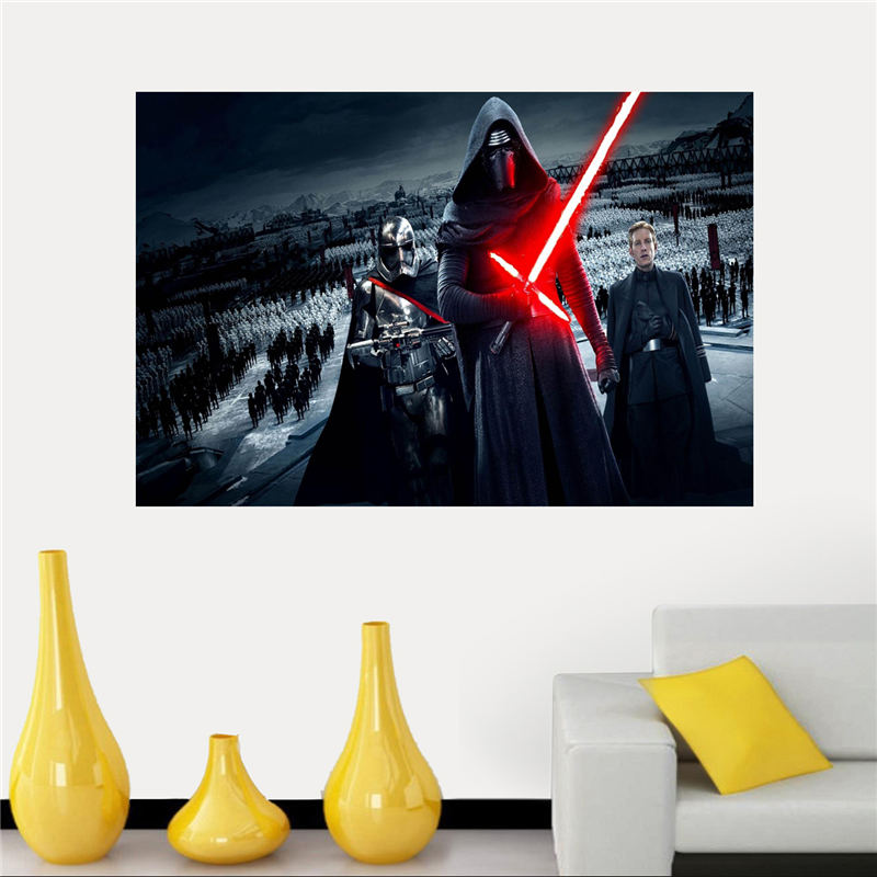 Personality Star Wars Silk Canvas Poster cloth for Home Decorative painting Art And Custom Print your image SQ0505-ZHH(China (Mainland))