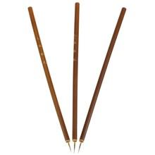 1 Pc Weasel Acrylic Nail Art Brush Liner Pen Painting Delicate Bamboo Handle Drawing Nails Tool Fingernail Brushes Free Shipping(China (Mainland))