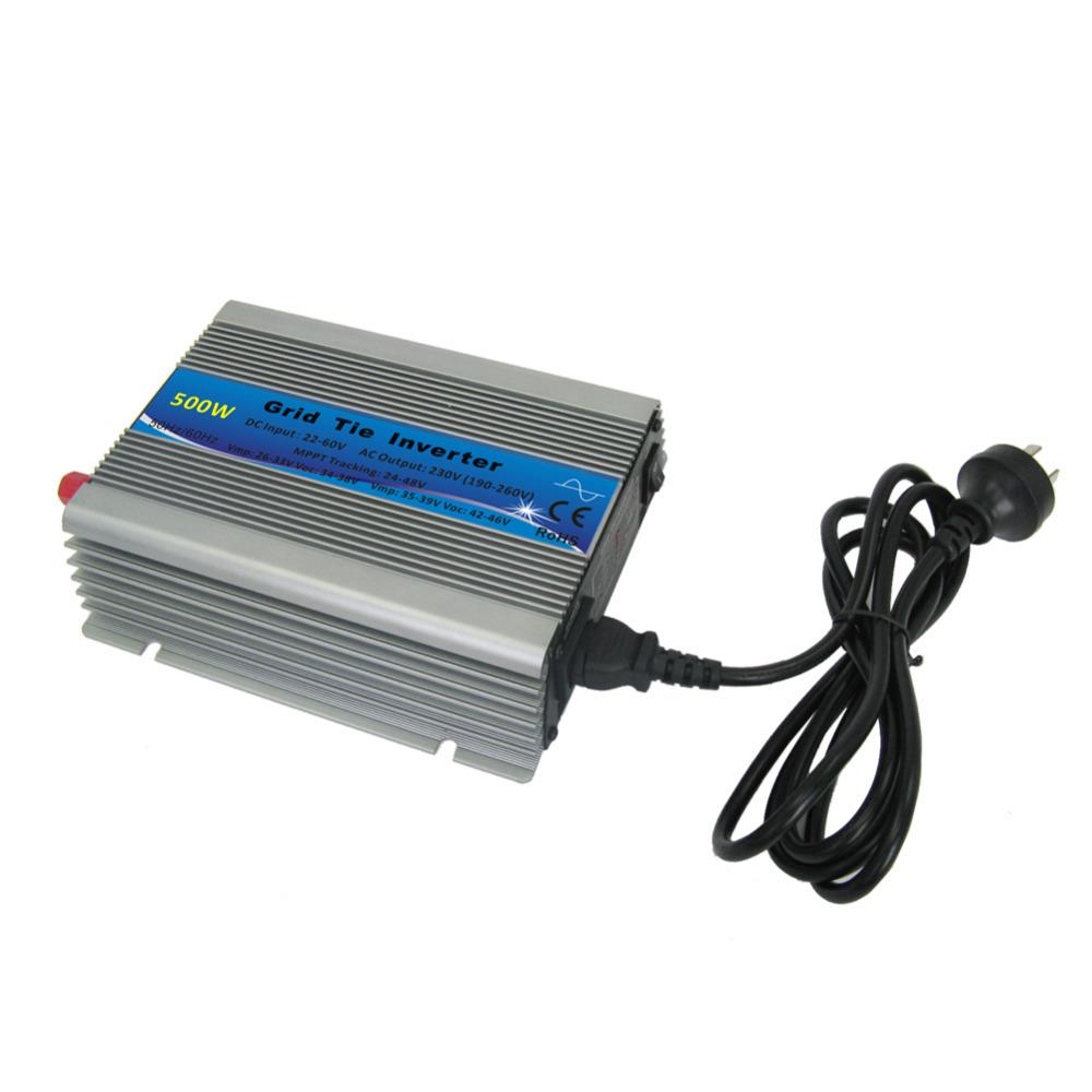500W AC230V MPPT Technology Solar Panel Smart Grid Tie Micro Inverter EU High Quality Free Shipping(China (Mainland))