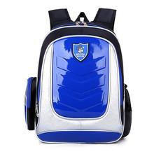 2016 Leather Backpack Orthopedic School bags Boys/girl PU Waterproof Child Kids bag - Woman's favorite , store