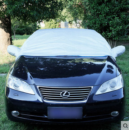 customize car covers half body upper part cover blue grey anti-snow frost waterproof dust-proof auto accessories windshield new(China (Mainland))