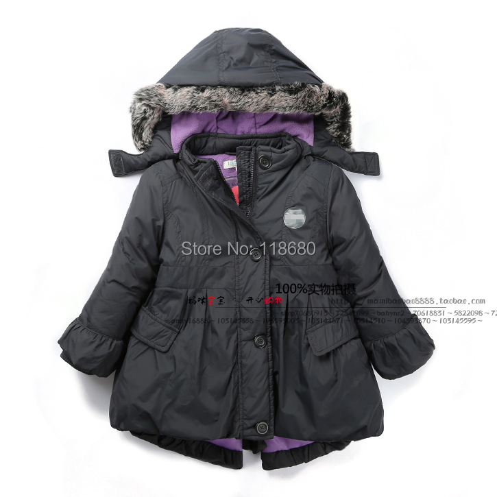 2015 autumn Winter jacket children clothing fashion girls outerwear casual cotton coat kids jackets - Lily' house store
