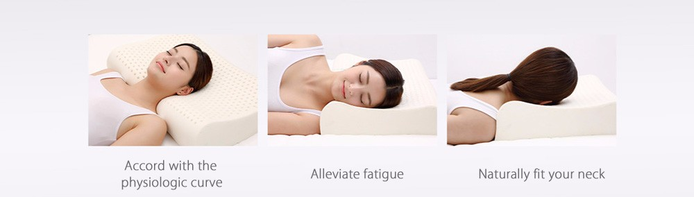 New Xiaomi 8H Pillow Z2 Natural Latex Elastic Soft Pillow Neck Protection Cushion Best Environmentally Safe Material Good Sleep