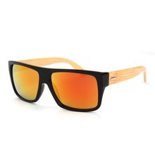 2015 New Fashion Bamboo Sunglasses Men Wooden Sun glasses Women Brand Designer Original Wood Glasses Oculos de sol masculino