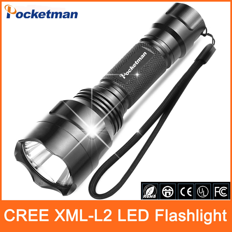 New Arrival 3800LM 5 Modes CREE XM-L2 Black Waterproof LED Flashlight Zoomable lantern LED Torch High-quality(China (Mainland))