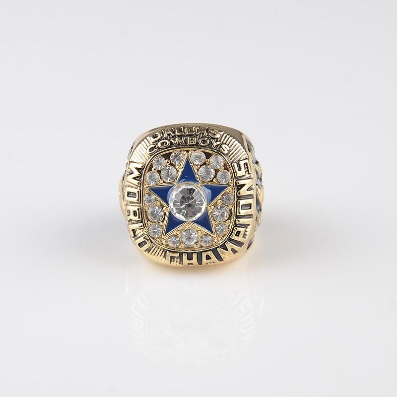 New Version Of 1971 Super Bowl Replica Dallas Cowboys Championship Ring for Fans Jewelry(China (Mainland))