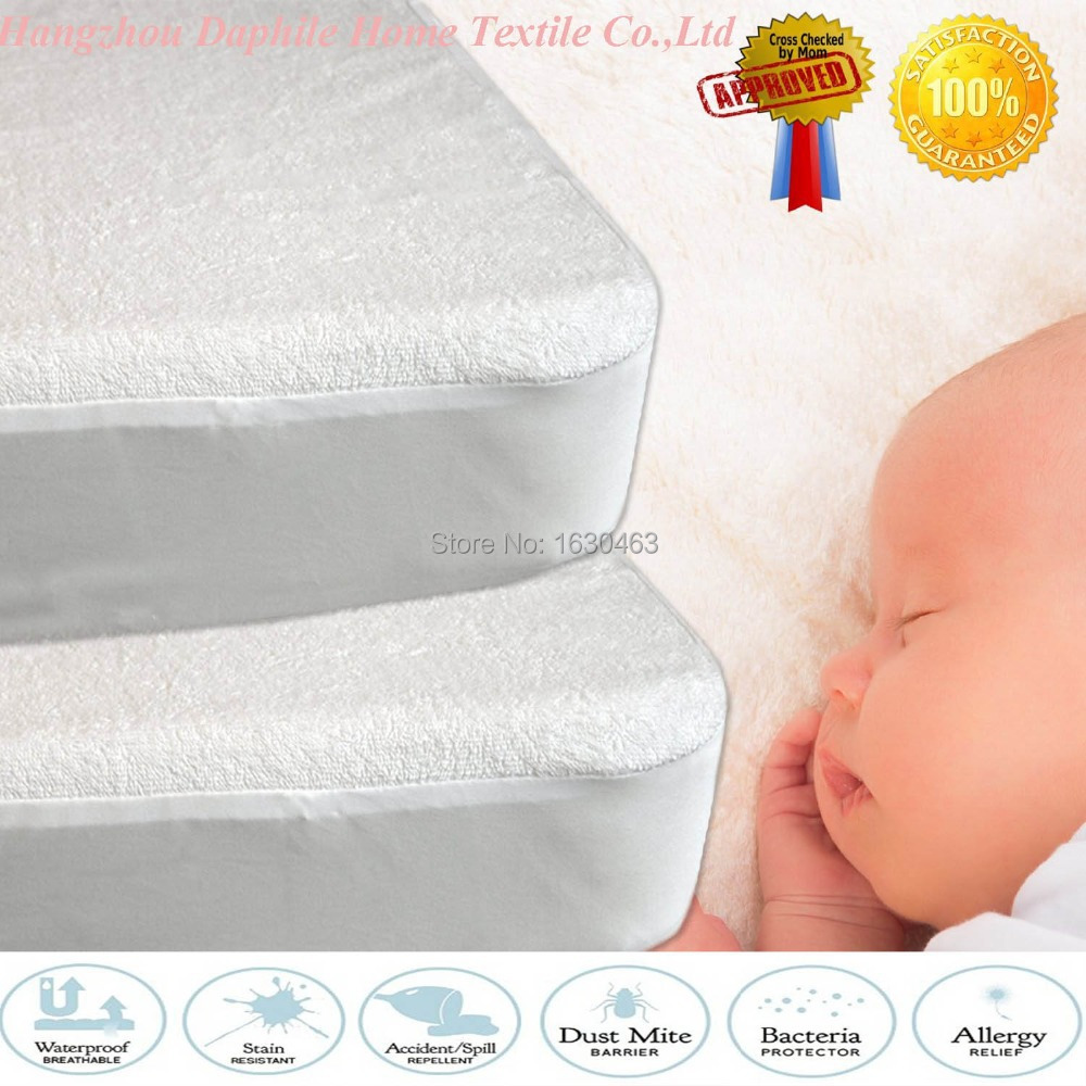 80X188cm Terry Baby Waterproof Mattress Protector Cover For Bed Bug Suit For Brazil Mattress Size(China (Mainland))
