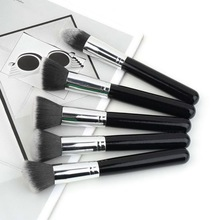 10Pcs set Synthetic Kabuki Makeup Brushes Professional Cosmetics Foundation blending brush set makeup tool
