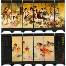Chinese wind characteristics folding screens Creative Desktop DecorationPF002(China (Mainland))