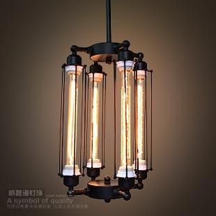 Rh loft vintage pendant light steam punk wrought iron pendant light lamps d8184(China (Mainland))