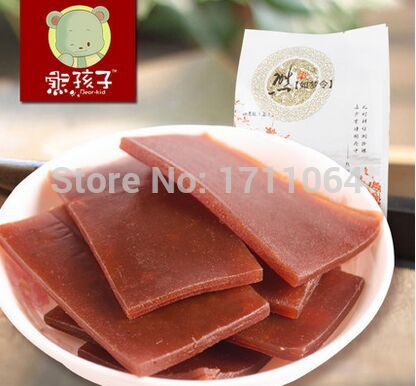 Hawthorn cake 250g Yee haw haw flakes candied fruit preserved fruit preserved fruit snacks dried food<br><br>Aliexpress
