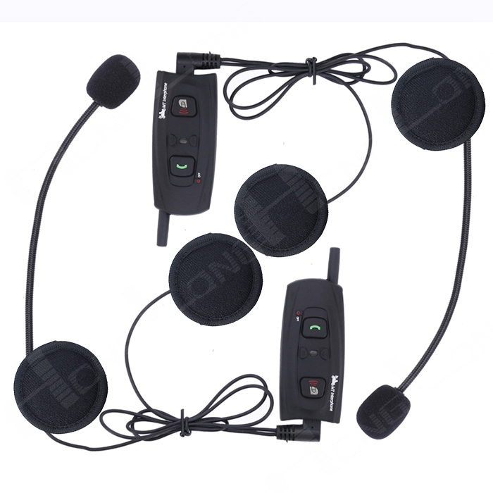 Гарнитура для шлема BTI Bluetooth Iphone/Samsung, 500 , 2 гарнитура для шлема winzon bluetooth intercom v2 500 moto intercomunicadores motos bluetooth 2
