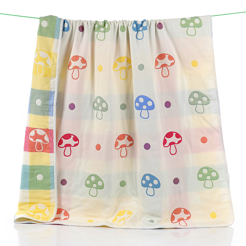 Lovely Muslin Cotton Baby Blanket Swaddle Soft Organic Cotton Baby Bedding Product(China (Mainland))